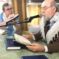 Photo taken at Sinagoga da Hebraica by Jose Luiz G. on 1/28/2017
