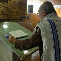 Photo taken at Sinagoga da Hebraica by Jose Luiz G. on 5/16/2013