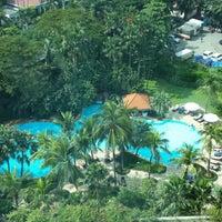Photo taken at Shangri-La Hotel by Haris S. on 6/2/2013