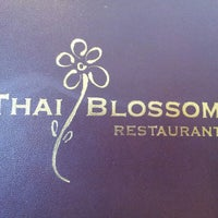 Photo taken at Thai Blossom by Scarlett B. on 7/1/2013
