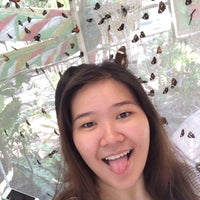 Photo taken at Butterfly Haven Pulilan by Kat C. on 5/1/2015