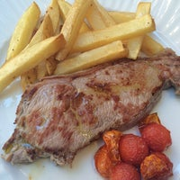 Photo taken at Restaurant La Giberga by Martí on 7/20/2014
