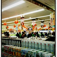 Photo taken at Gold City Supermarket by Rita L. on 3/2/2013