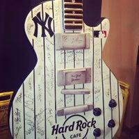 Photo taken at Hard Rock Cafe Yankee Stadium by Rita L. on 9/2/2013