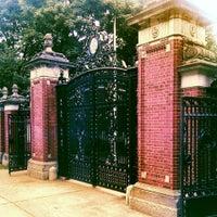 Photo taken at Brown University by Rita L. on 8/20/2013