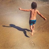 Photo taken at Fair Harbor Beach (Walnut Walk) by Nick L. on 7/30/2013
