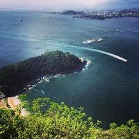 Photo taken at Morro Cara de Cão by Nick L. on 4/18/2014