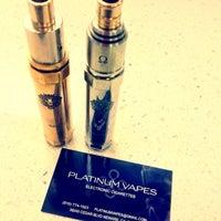 Photo taken at Platinum Vapes #2 by Lisa P. on 10/13/2013