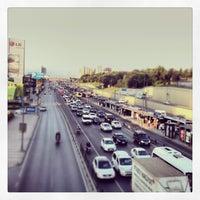 Photo taken at Merter Metro İstasyonu by ⚡️ VOLKAN Y. on 7/17/2013