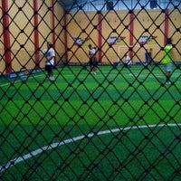 Photo taken at simona stadium futsal by apriliani a. on 11/23/2013