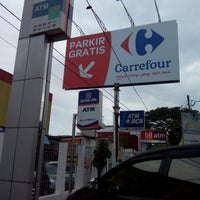 Photo taken at Carrefour by dian s. on 7/27/2014