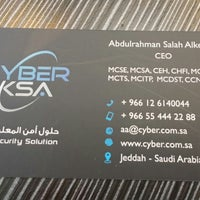 Photo taken at Cyber KSA by Qusai Y. on 1/22/2015