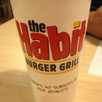 Photo taken at The Habit Burger Grill by Tifini H. on 12/28/2012
