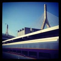 Photo taken at MBTA North Station by Margot B. on 8/21/2013