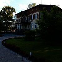 Photo taken at Dworek Jeziorki by Aleksandr O. on 6/16/2014