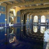 Photo taken at Hearst Castle Roman Pool by Genna C. on 6/23/2016