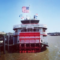 Photo taken at Steamboat Natchez by Randall M. on 4/20/2013