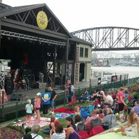 Photo taken at Jeffersonville Riverstage by Andy V. on 7/19/2014