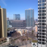 Photo taken at Hyatt Place Atlanta/Downtown by Patrick C. on 2/9/2013