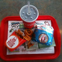 Photo taken at Arby's by Daniel O. on 12/18/2012