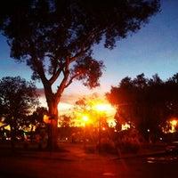 Photo taken at Orizaba Park by Ryan K. on 1/8/2013