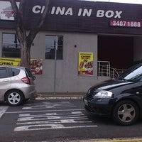 Photo taken at China in Box by Rodrigo Diego S. on 3/19/2013