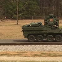 Photo taken at Anniston Army Depot by Larry M. on 4/2/2014