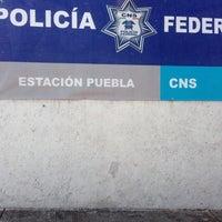 Photo taken at Destacamento Policia Federal Puebla by Gustavo V. on 11/20/2013