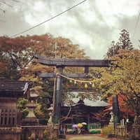 Photo taken at 榛名神社 by Masato O. on 10/22/2013