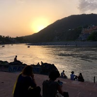 Photo taken at Lakshman Jhula | लक्ष्मण झूला by Wibke B. on 4/24/2017