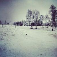 Photo taken at Склон Магес by Anton N. on 2/9/2014