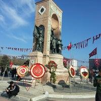 Photo taken at Taksim by Ozan B. on 10/28/2013