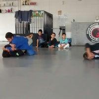 Photo taken at Ryan-Gracie Almeida Jiu-Jitsu by Edgar N. on 8/3/2014