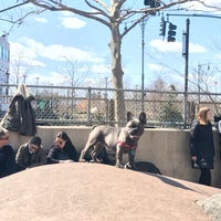 Photo taken at Chelsea Waterside Park Dog Run by Kevin N. on 4/3/2017