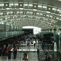 Photo taken at Juan Santamaría International Airport (SJO) by Allie T. on 7/16/2013