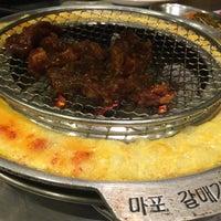 Foto tomada en Mapogalmaegi Korean BBQ por Gracia S. el 1/26/2017