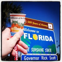 Photo taken at Florida Welcome Center (I-95) by JB F. on 12/21/2012