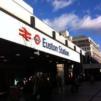 Photo taken at London Euston Railway Station (EUS) by Kimberley B. on 11/3/2012