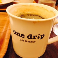 Photo taken at one drip 小野原焙煎所 by Hoge7460 on 6/12/2016