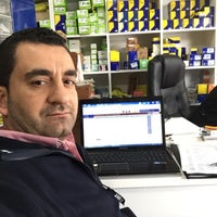 Photo taken at Deniz Oto Yedek Parça & Aksesuar by İbrahim D. on 12/12/2015