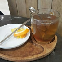 Photo taken at Green Caffè Nero by Oxana G. on 1/31/2016