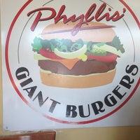 Photo taken at Phyllis' Giant Burgers - San Rafael by Kenley G. on 11/2/2013