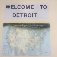 8/31/2017にKenley G.がDetroit Amtrak Station (DET)で撮った写真