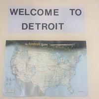 Das Foto wurde bei Detroit Amtrak Station (DET) von Kenley G. am 8/31/2017 aufgenommen