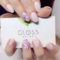 Photo taken at Gloss Nail Bar by GLOSS N. on 4/6/2014
