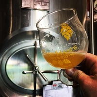 Photo taken at Bare Hands Brewery by Eric F. on 8/19/2017