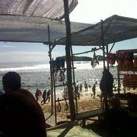 Photo taken at Pantai Sadranan by Cekot T. on 2/14/2016