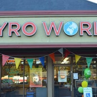 Photo taken at Gyro World by Gyro World on 10/10/2013