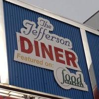 Photo taken at Jefferson Diner by Jenn L. on 2/7/2013