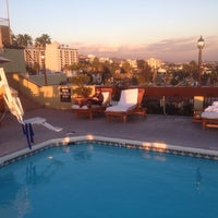 Photo taken at Le Montrose Rooftop Pool by Chris M. on 12/6/2013